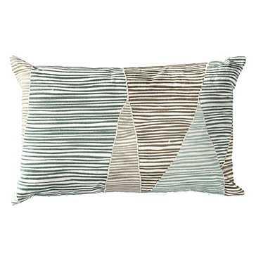 Darlow Pillow - 18''W x 12''H - Polyester insert - Z Gallerie