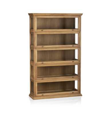 Atticus 5-Piece Barrister Bookcase - Crate and Barrel
