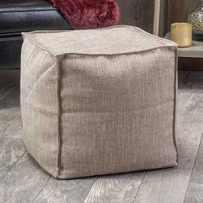 Christopher Knight Home Alder Fabric Cube Ottoman-Kayak Brown - Overstock
