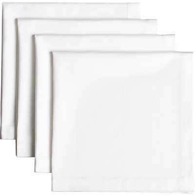Restaurant dinner napkins set of 4 - CB2