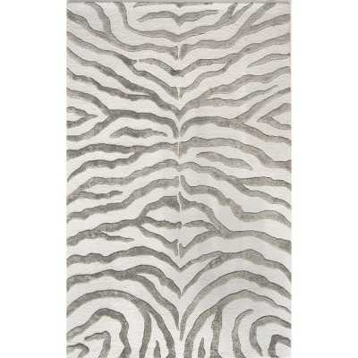 Radiant Zebra Area Rug - Target