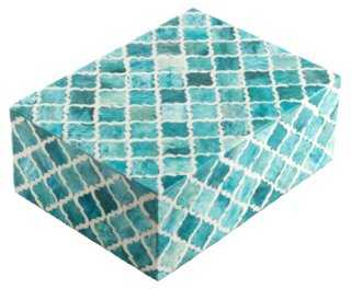 "6"" Morrocan Tile, Turquoise - One Kings Lane"