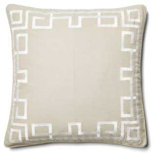 Corner Key  Pillow - One Kings Lane