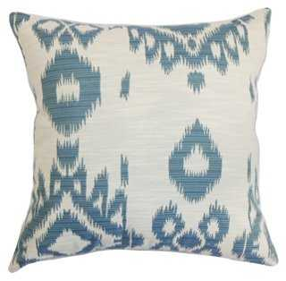 Gaera Cotton Pillow - 18x18 - With Insert - One Kings Lane