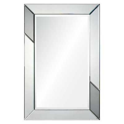 Bevelled Shunpei Framed Wall Mirror - Overstock