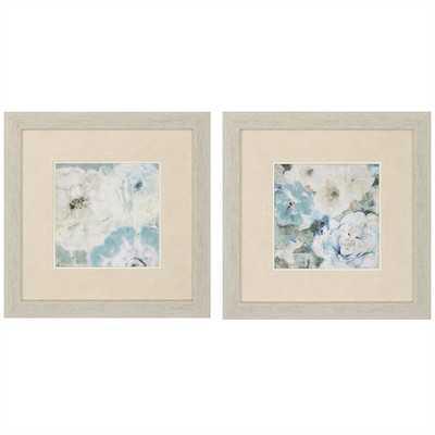 Trio Late 2 Piece Framed Painting Print Set - Wayfair