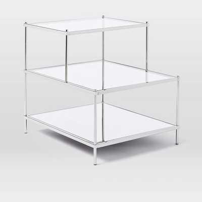 Terrace Side Table - Polished Nickel - West Elm