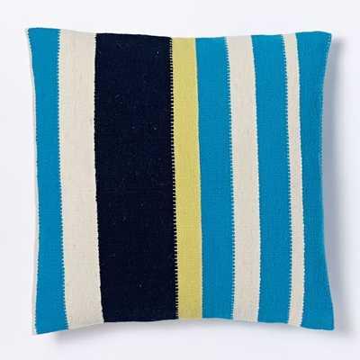 "Steven Alan Pop Stripe Pillow Cover - 20""sq - West Elm"