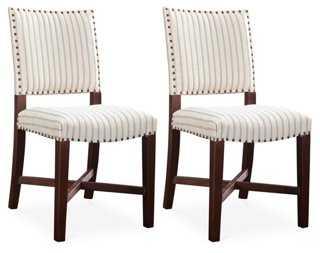 La Jolla Side Chairs, Pair - One Kings Lane