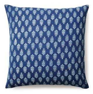 Tribal Cotton Pillow - One Kings Lane