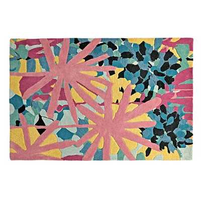 Water Lily Rug - Land of Nod
