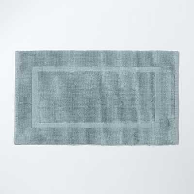 Looped Border Bath Mat - West Elm