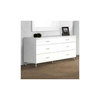 Modrest Bravo 6 Drawer Dresser - AllModern