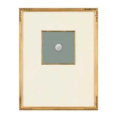 """Intaglio Art - Print IV - 18""""H X 14""""W - framed - Ballard Designs"""