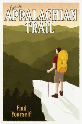 "Appalachian Trail Poster - 24 x 36"" - Unframed - Etsy"