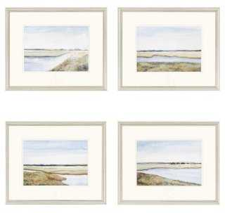 Marshes - Set of 4 - One Kings Lane