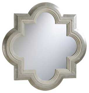 Carlton Wall Mirror, Silver - One Kings Lane