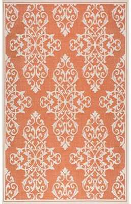 Anlier Damask Outdoor Rug - Rugs USA
