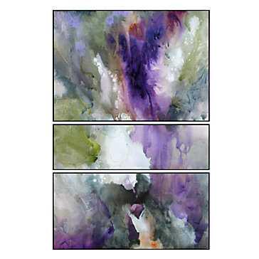 Cosmic - Set of 3 - 24''W x 36''H  -Unframed - Z Gallerie