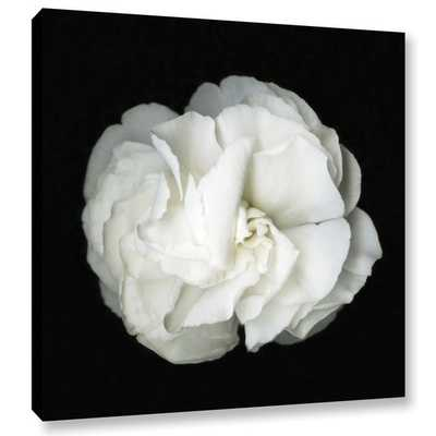ArtWall Susanna Shaposhnikova's White Flower, Gallery Wrapped Canvas - Overstock