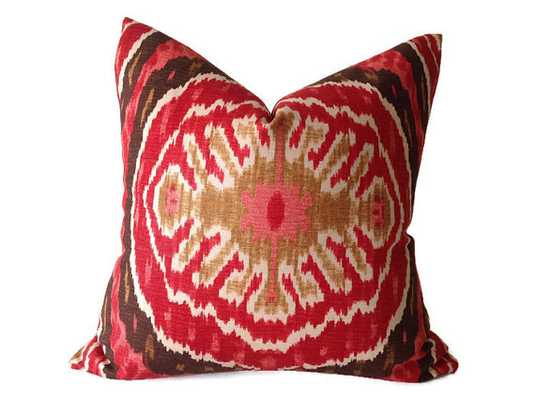 """One Decorative Pillow Cover - 18""""sq - no insert - Etsy"""