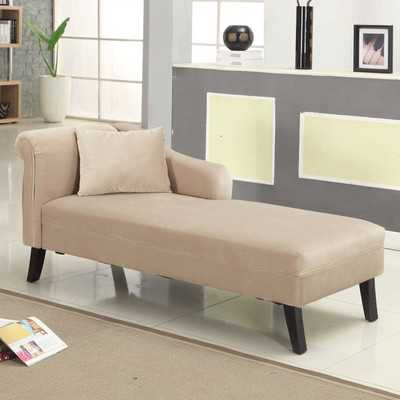 Patterson Chaise Lounge - Taupe - Wayfair