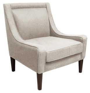 Scarlett Swoop-Arm Chair - One Kings Lane