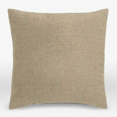 Upholstery Fabric Pillow Cover -  Plain Seam - West Elm