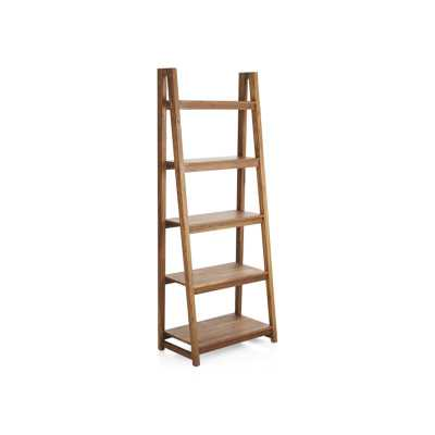 Strut Teak Bookcase - Crate and Barrel