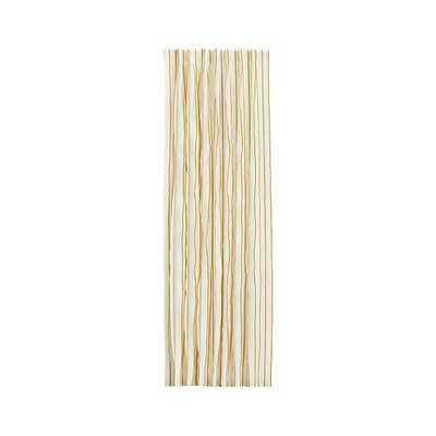 """Kendal Yellow 50""""x108"""" Curtain Panel. - Crate and Barrel"""