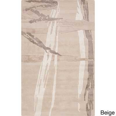 Hand-Tufted Bridget Abstract New Zealand Wool Rug - Overstock