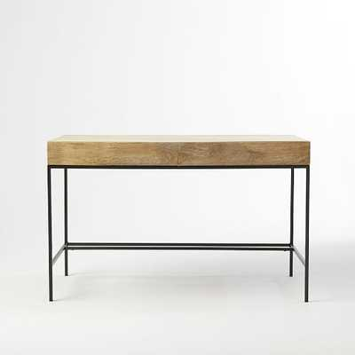 Rustic Storage Desk - West Elm