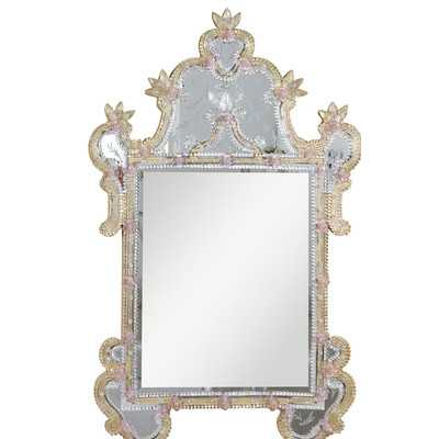 Murano Wall Mirrorby Elegant Lighting - Wayfair