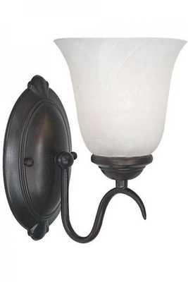 MEDUSA ONE-LIGHT WALL SCONCE - Home Decorators