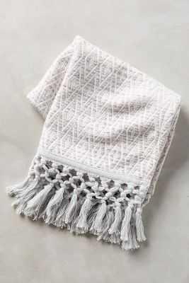 Yarn-Dyed Malvina Hand Towel - Anthropologie