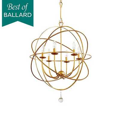 Orb Chandelier - Gold - Small - Ballard Designs