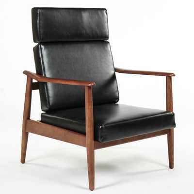Aalborg High Back Chair - Black - AllModern