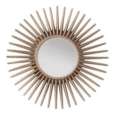 Ella Sunbeam Decorative Beveled Wall Mirror - AllModern