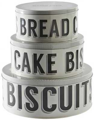 BAKER STREET CAKE TINS - Home Decorators