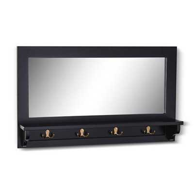 Entry Mirror with Hooks - Target