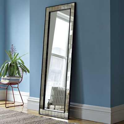 Antique Tiled Floor Mirror - West Elm