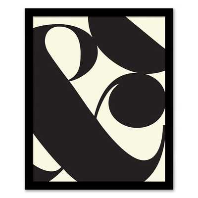 "Framed Print - Ampersand - 16""w x 20""l - West Elm"