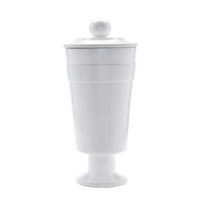 White Polar Vase - Tall - Rosen Studio