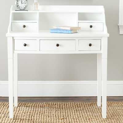 Landon Secretary Desk by Safavieh - Wayfair