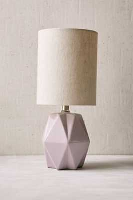 Faceted Pastel Table Lamp - Lavender - Urban Outfitters