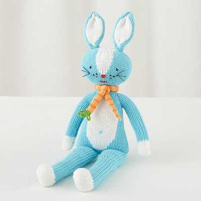 "14"" Knit Crowd Bunny - Land of Nod"