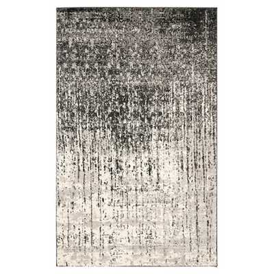 "Retro Black & Light Grey Area Rug - 8'9"" x 12' - AllModern"