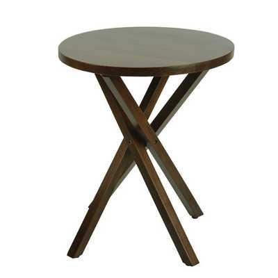 Criss Cross End Table I - AllModern