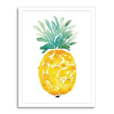 """Minted for West Elm - Ananas - 17"""" x 22"""" - Framed - West Elm"""