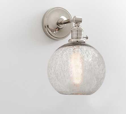PB Classic Sconce - Glass Globe SET OF 2 - Pottery Barn